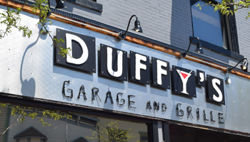Duffys Garage Grille Petoskey Michigan